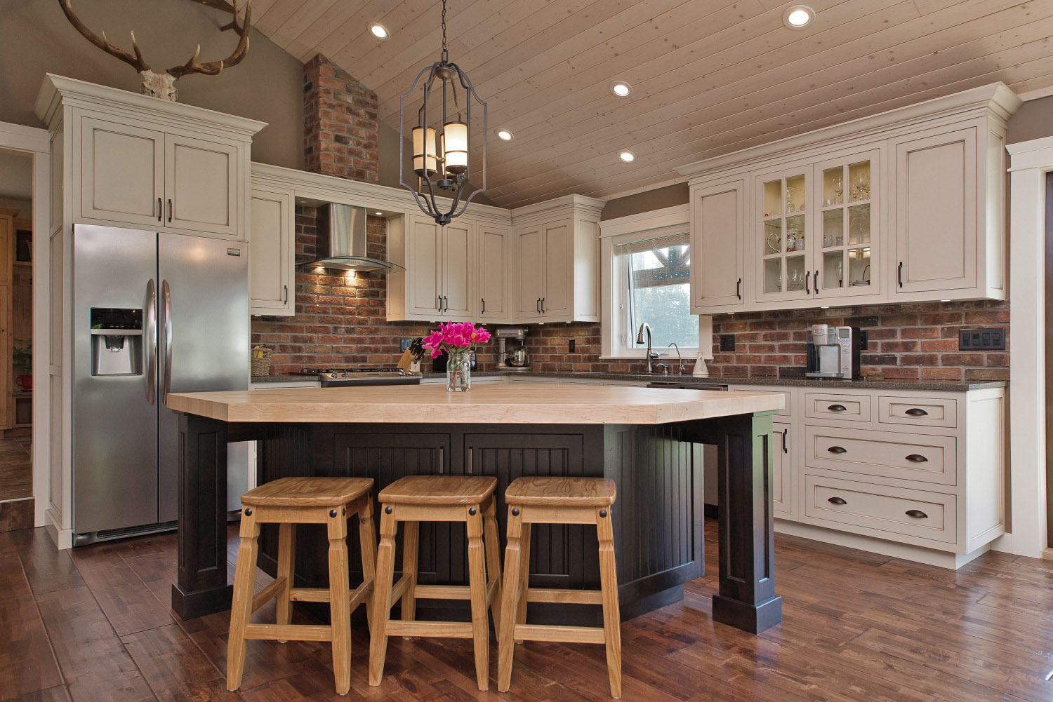 A Frame Kitchen Traditional Full Frame Kitchens Inset Doors Cedar Creek